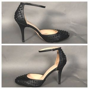 ZARA Leather Studded Pumps  EXCELLENT CONDITION!